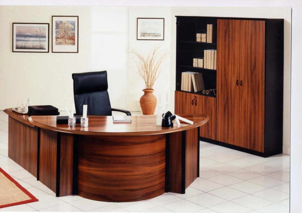 Lovable Large Wooden Office Desk Home Office Executive Office Furniture Desk Large Wood Home