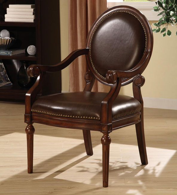 Lovable Leather Accent Chairs With Arms Chairs Astounding Leather Accent Chairs With Arms Leather Accent