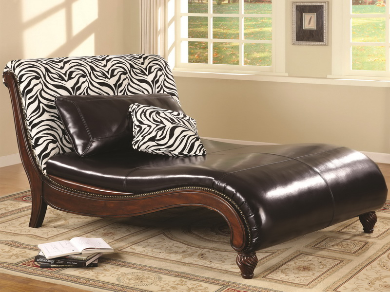 Lovable Leather Chaise Lounge Chairs Indoors Chaise Lounge Chairs Indoor New Interiors Design For Your Home
