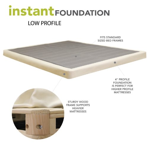 Lovable Low Box Spring Queen Best Low Profile Box Springs 2017 Buyers Guide Reviews