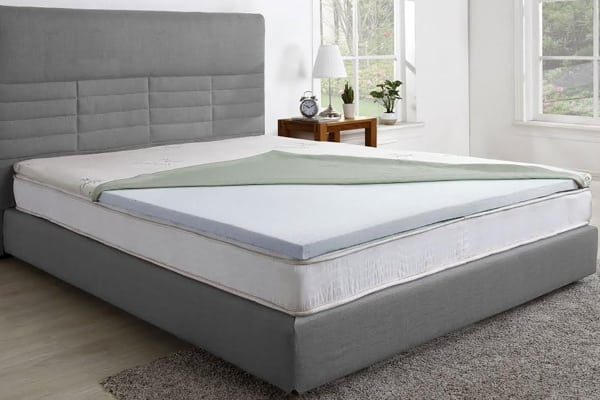 Lovable Memory Foam Mattress Topper Queen Ovela Gel Infused Memory Foam Mattress Topper Queen Kogan