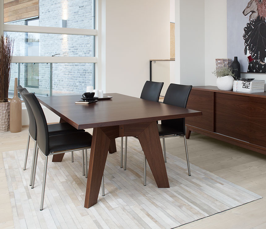 Lovable Modern Rectangular Dining Table Modern Rectangular Dining Room Table Danish A113 Wharfside