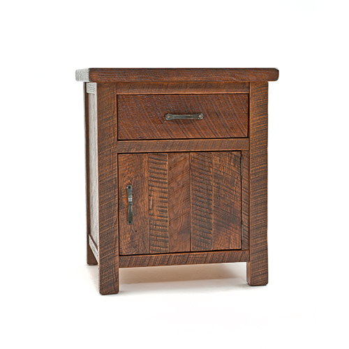 Lovable Nightstand With Door And Drawer Oak Haven 1 Door 1 Drawer Nightstand Green Gables
