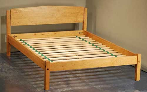 Lovable Non Slatted Platform Bed Platform Bed Construction Scott Jordan Furniture