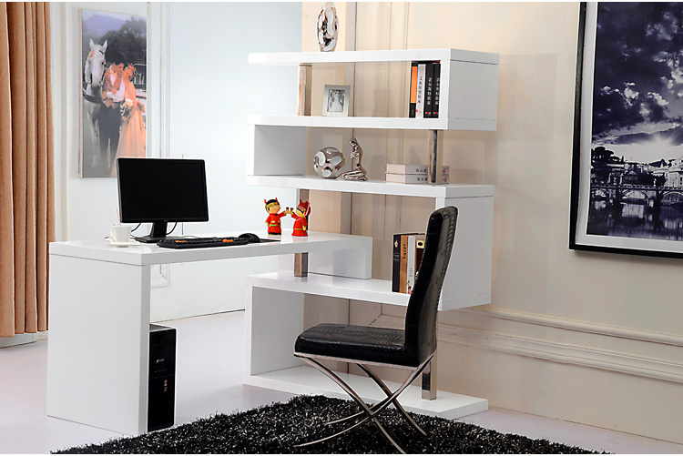Lovable Office Desk With Shelves White Book Casewhite Book Shelfhome Office Deskcomputer Desk In