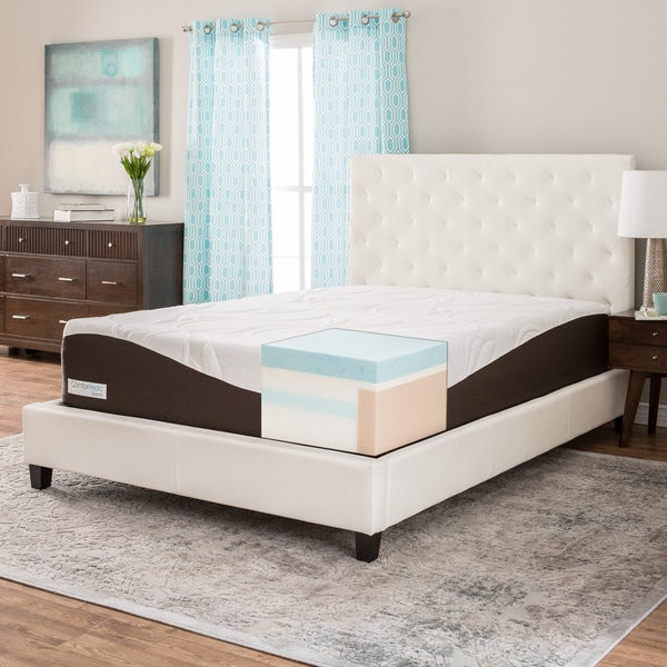 Lovable Queen Size Memory Foam Bed Frame Comforpedic From Beautyrest 14 Inch King Size Gel Memory Foam
