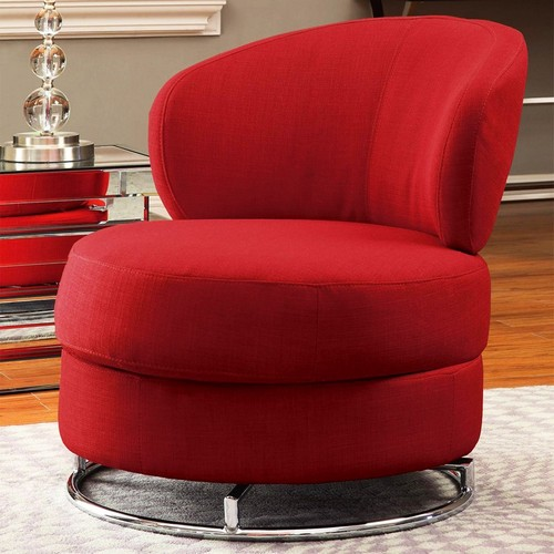 Lovable Red Accent Chair With Ottoman Red Accent Chair