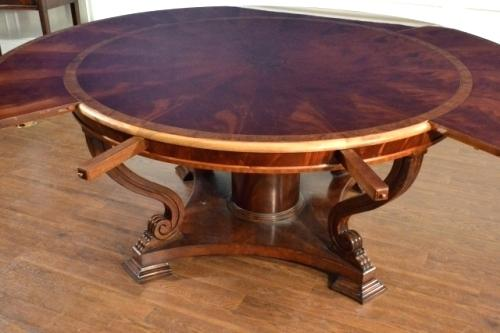 Lovable Round Dining Room Table With Leaf Dining Room Tables Round With Leaves Mitventuresco