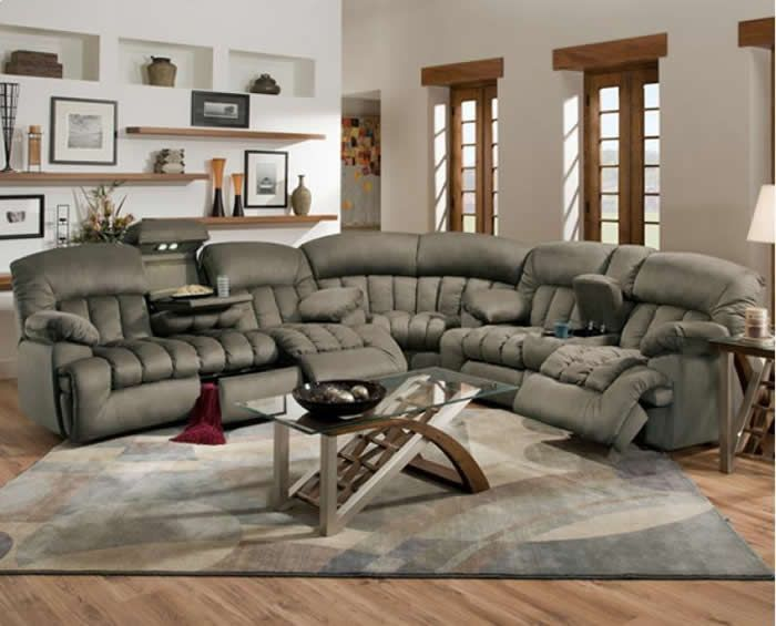 Lovable Sectional Couch With Recliner Lovely Reclining Sectional Couches 54 Contemporary Sofa