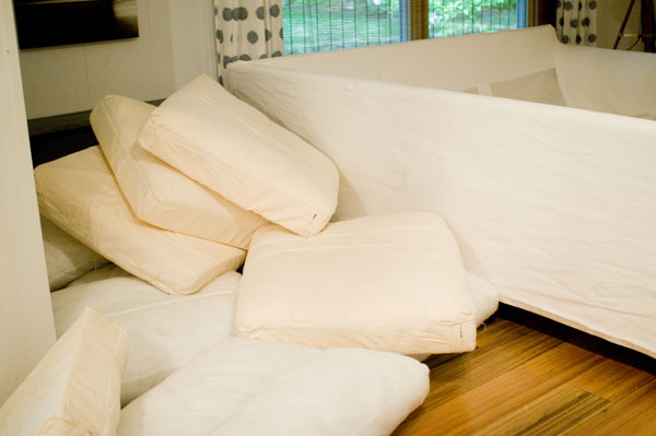 Lovable Sectional Sofa Covers Ikea The Truth About The White Ikea Ektorp Sectional The Tiny Twig