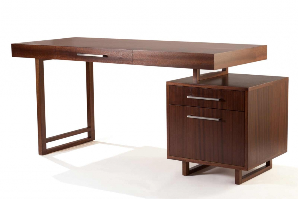 Lovable Simple Wood Office Desk Small And Simple Wood Home Office Desk With Drawer And Storage For