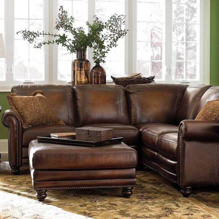 Lovable Small Brown Leather Sofa Best 25 Brown Leather Sofa Bed Ideas On Pinterest Brown Couch