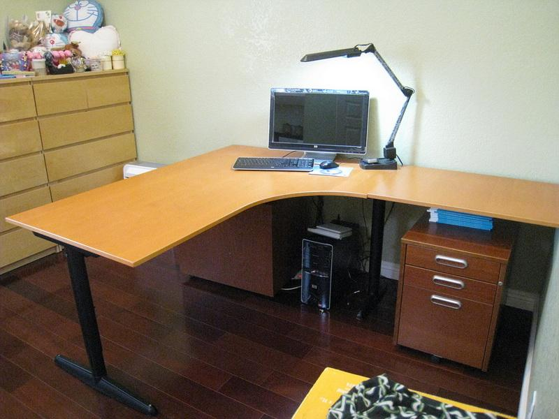Lovable Small L Shaped Desk Ikea Designing L Shaped Desk Ikea Ravishing Home Tips Modern And