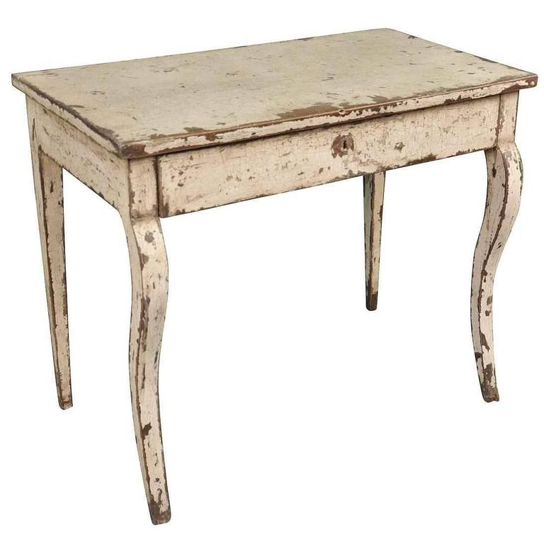 Lovable Small Table Desk Spanish 19th Century Small Desk Or Side Table For Sale At 1stdibs