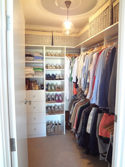 Lovable Small Walk In Closet Design The House On Chambers From Larder To Walk In Robe Home Ideas