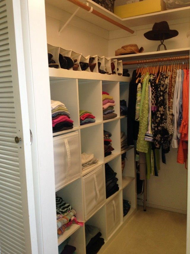 Lovable Small Walk In Closet Organization Ideas Best 25 Walk In Closet Organization Ideas Ideas On Pinterest