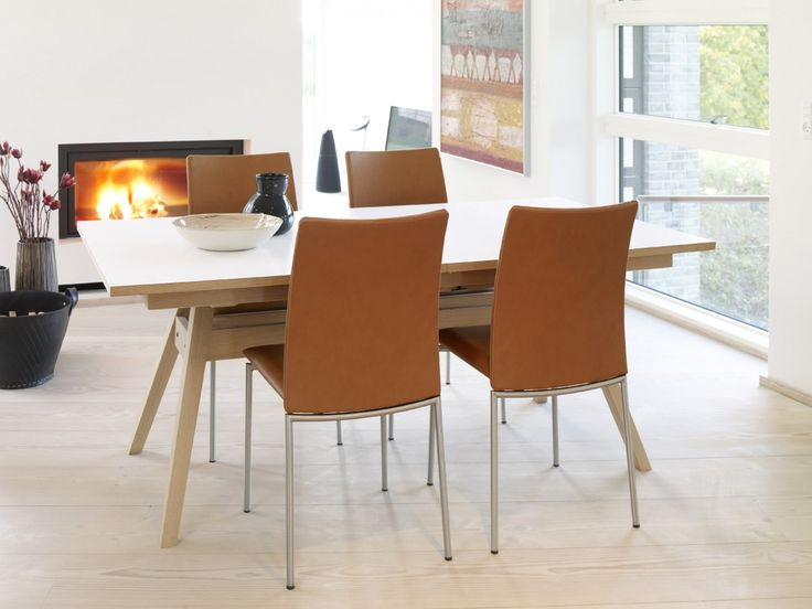 Lovable Tan Leather Dining Room Chairs 40 Best Modern Wood Dining Images On Pinterest Scandinavian