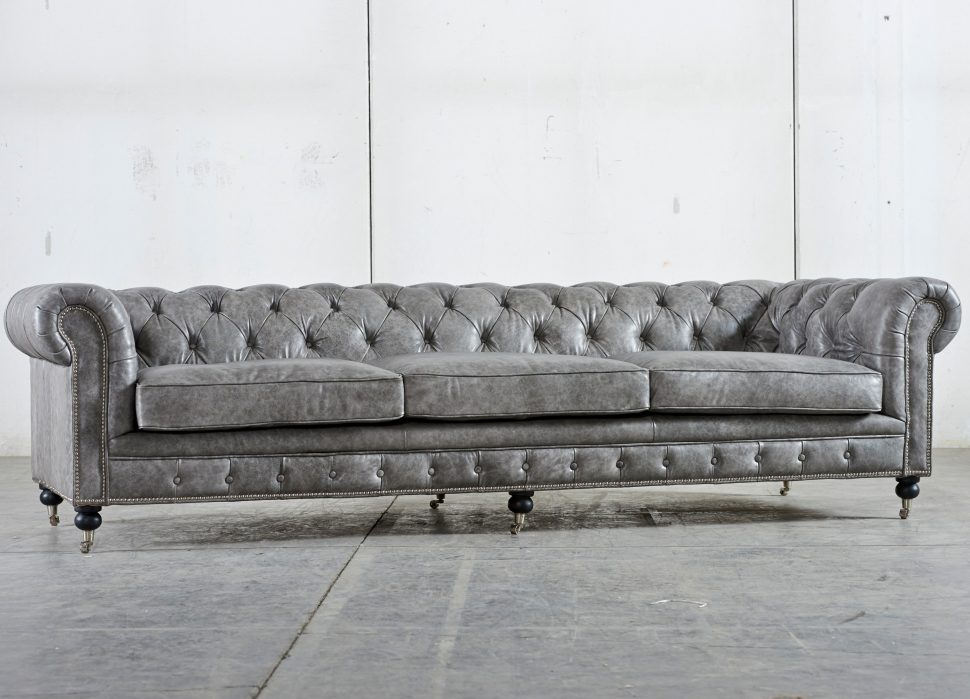 Lovable Tufted Sleeper Sofa Living Room Furniture Sofa Nice Tufted Leather Sleeper Sofa Gray Color With Stainless