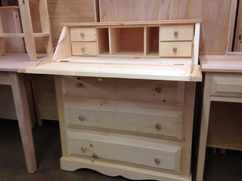 Lovable Unfinished Furniture Desk Drop Lid Desk Lam Brothers Unfinished Furniture
