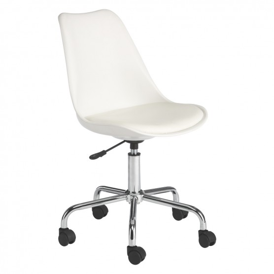 Lovable White Office Chair Ginnie White Office Chair Buy Now At Habitat Uk