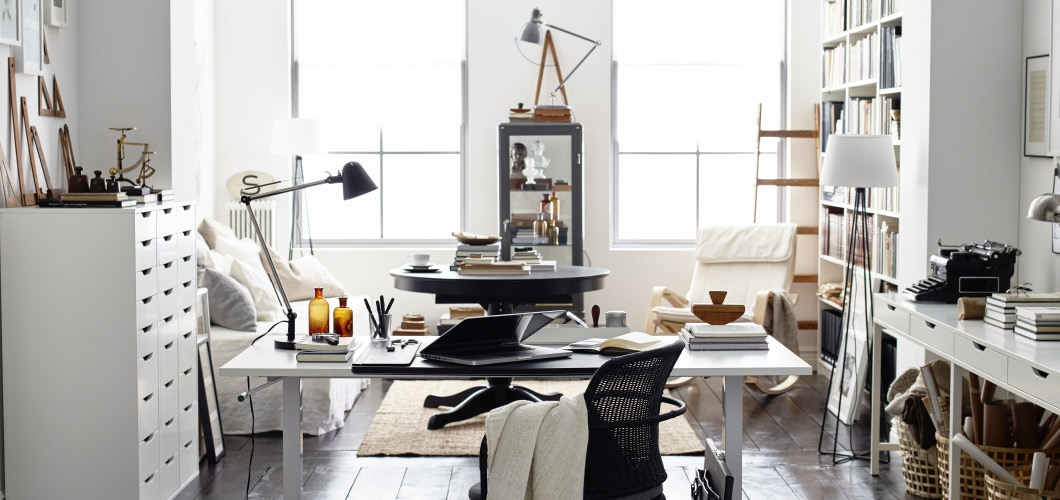 Lovable White Office Furniture Ikea Home Office Furniture Ikea