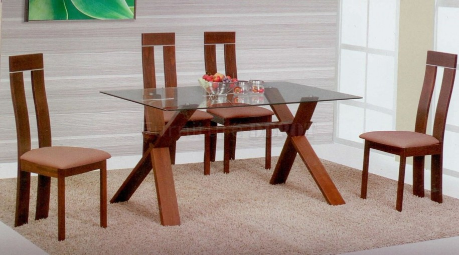 Lovable Wood And Glass Dining Table Designs Dining Tables Modern Wood Dining Tables Ideas Dining Room Tables