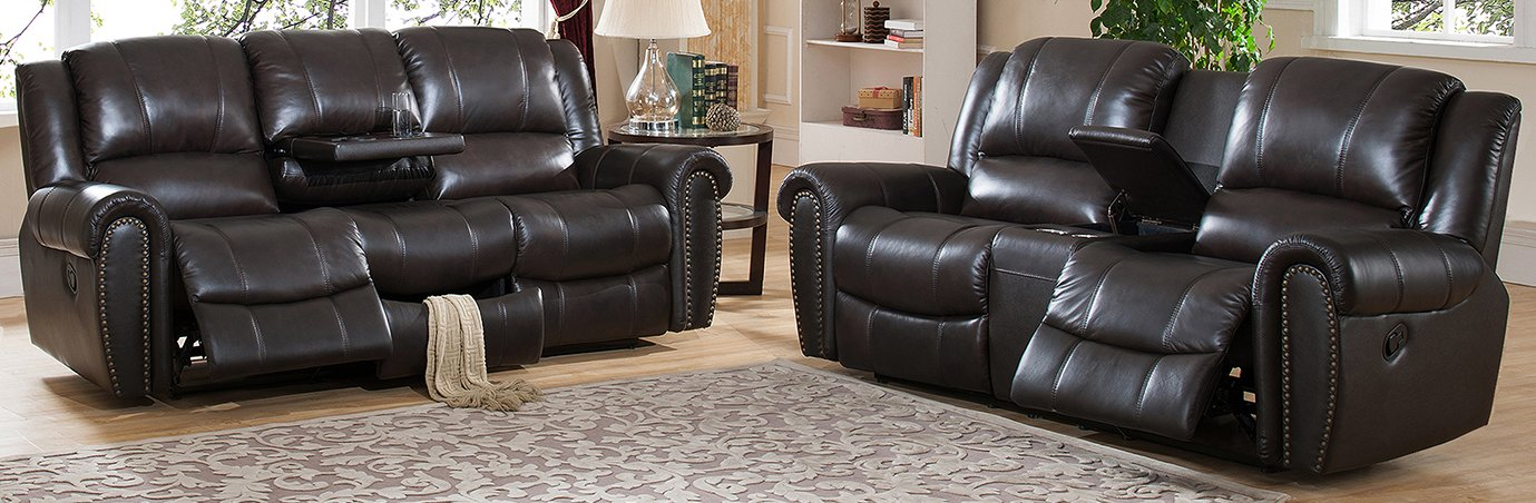 Nice 2 Piece Leather Living Room Set Amax Charlotte 2 Piece Leather Living Room Set Reviews Wayfair