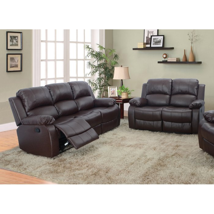 Nice 2 Piece Leather Living Room Set Red Barrel Studio Maumee 2 Piece Leather Living Room Set Reviews