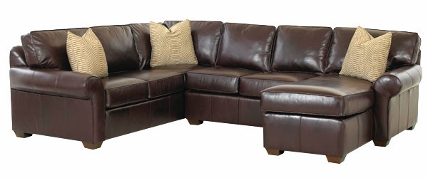 Nice 3 Piece Sectional Couch 3 Piece Leather Sectional Sofa With Chaise And Rolled Arms Club