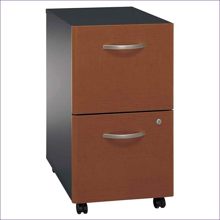 Nice 4 Drawer Wood File Cabinet With Lock Furnitures Ideas Marvelous 4 Drawer File Cabinet On Wheels 2