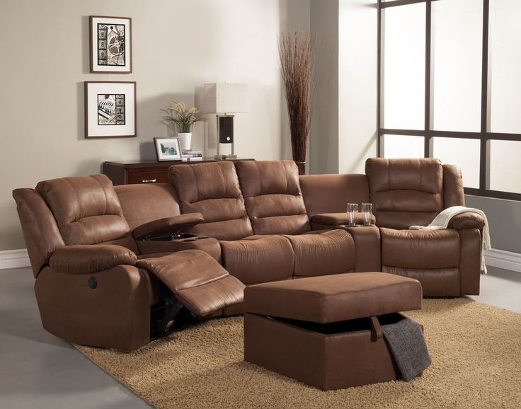 Nice 4 Seat Sectional Sofa Sectional Sofa Design Wide Drawer Large Square Brown Portable