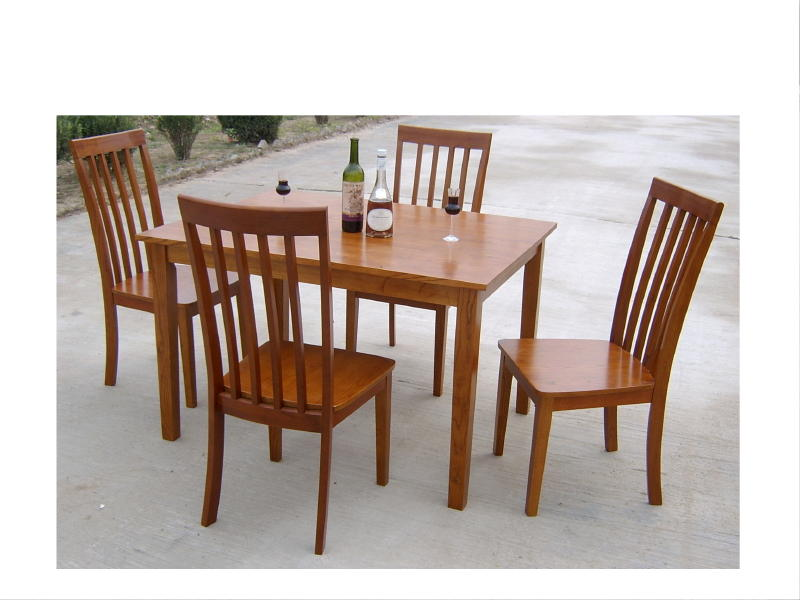 Nice 4 Wooden Dining Chairs Traditional Kitchen Decor With Cheap Walmart Dining Furniture