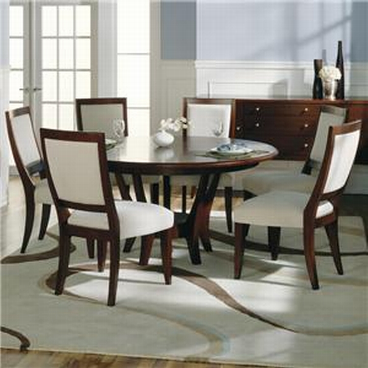 Nice 60 Inch Round Dining Room Table Modern Round Dining Table For 6 Rounddiningtabless