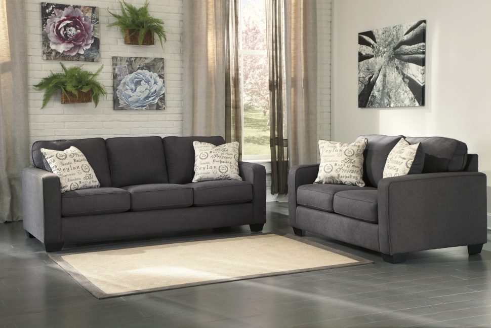 Nice Ashley Furniture Curved Sectional Sofas Magnificent Ashley Furniture Small Sectional Curved