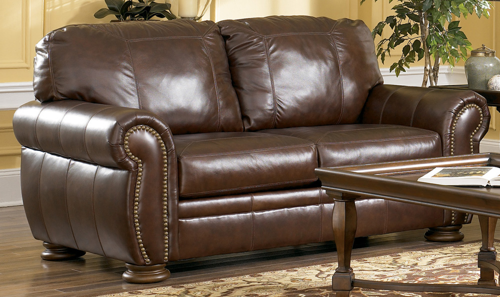 Nice Ashley Furniture Leather Couch And Loveseat 978 Ashley Furniture Leather Custom Ashley Leather Sofa Home