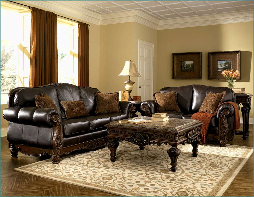 Nice Ashley Furniture Leather Living Room Sets Awesome Design Ideas Ashley Leather Living Room Sets Astonishing