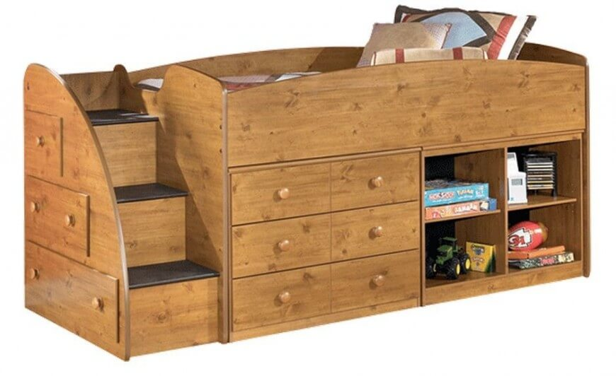 Nice Ashley Furniture Twin Bed With Drawers 24 Designs Of Bunk Beds With Steps Kids Love These