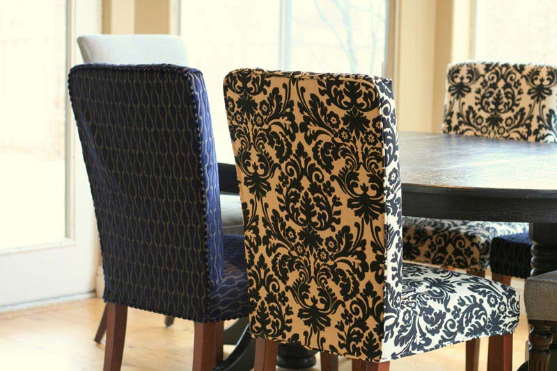 Nice Black And Cream Dining Chairs Furniture Dining Room Design With Black Wood Dining Table Feat