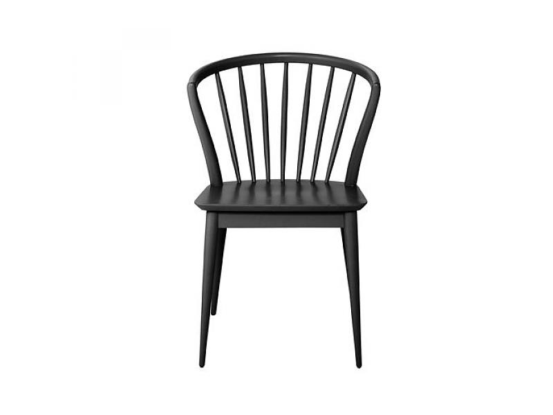 Nice Black And Wood Dining Chairs Bloomingville Laura Dining Chair Black Wood Living And Co