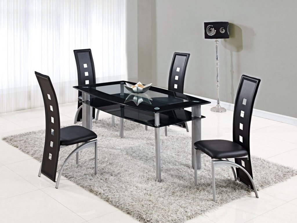Nice Black Kitchen Chairs Chairs Astonishing Set Of 4 Kitchen Chairs Inexpensive Dining