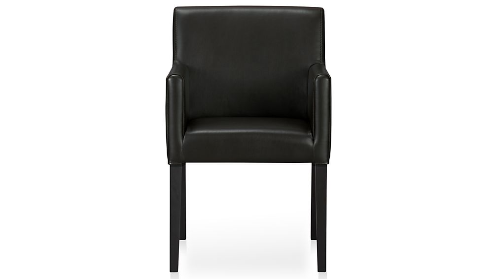 Nice Black Leather Dining Chairs With Arms Leather Dining Room Chairs With Arms For Dining Arm Chairs Black