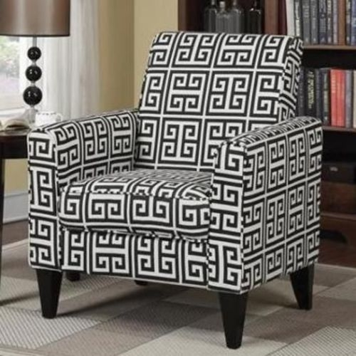 Nice Black White Accent Chair Living Room Black And White Accent Chair Hdviet Chairs 155 Best