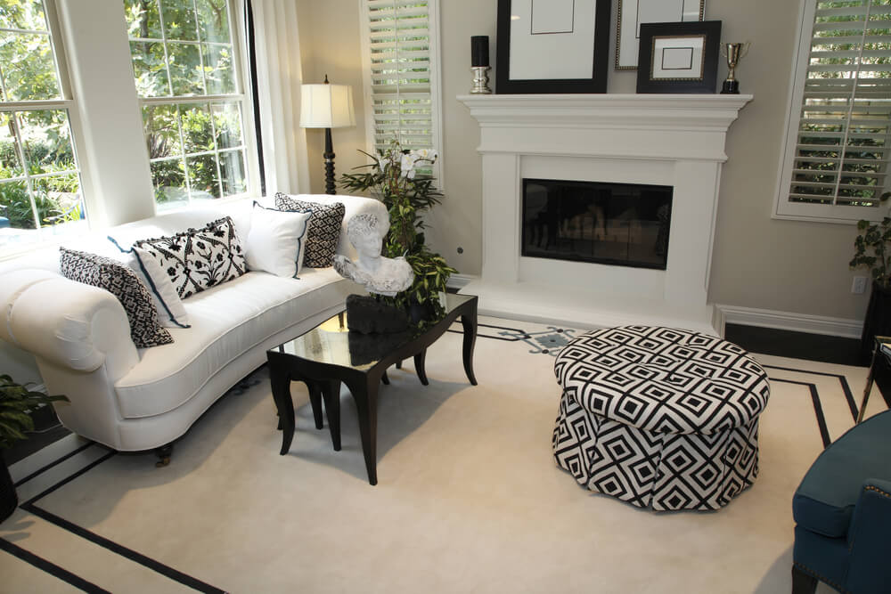 Nice Black White Chairs Living Room 53 Cozy Small Living Room Interior Designs Small Spaces