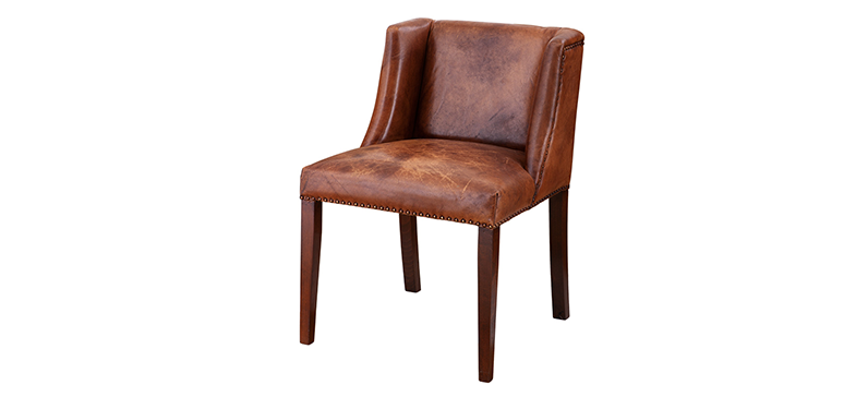 Nice Brown Leather Kitchen Chairs Creative Of Brown Leather Dining Chairs Brown Leather Dining Chair