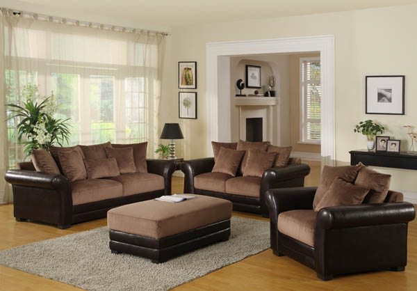 Nice Brown Living Room Furniture Living Room Color Schemes With Brown Furniture