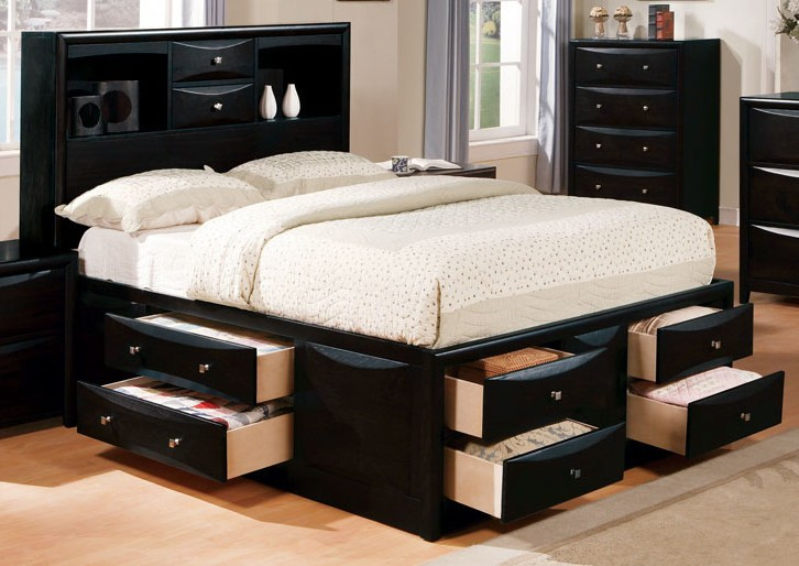 Nice California King Frame With Drawers How Incredible Ideas Storage Beds King With Drawers Underneath