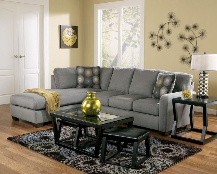 Nice Charcoal Gray Sectional Sofa With Chaise Lounge Best 25 Gray Sectional Sofas Ideas On Pinterest Green Living