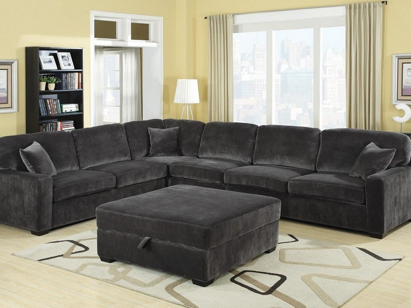 Nice Charcoal Gray Sectional Sofa With Chaise Lounge Charcoal Gray Sectional Sofa With Chaise Lounge Sofa Nrtradiant