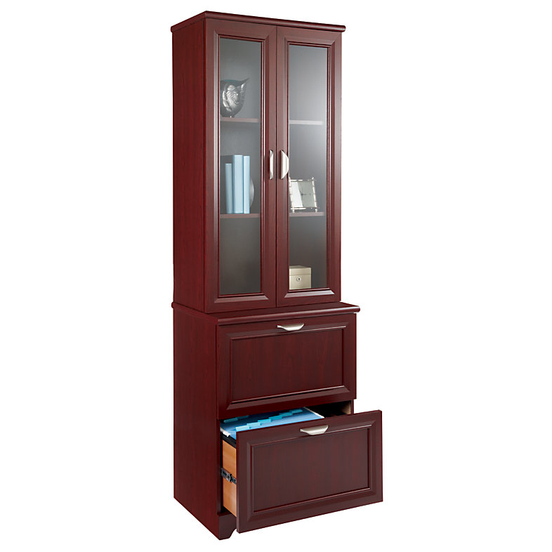Nice Cherry File Cabinet Realspace Magellan Outlet Collection 2 Drawer Lateral File Cabinet