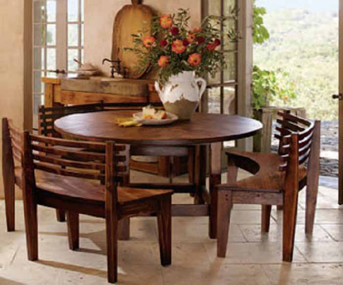 Nice Circle Dining Room Table Simple Round Kitchen Tables And Chairs With Round Dining Room